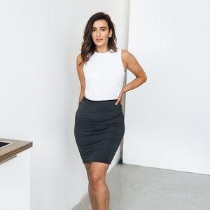 Encircled Reversible Pencil Skirt (M or L)